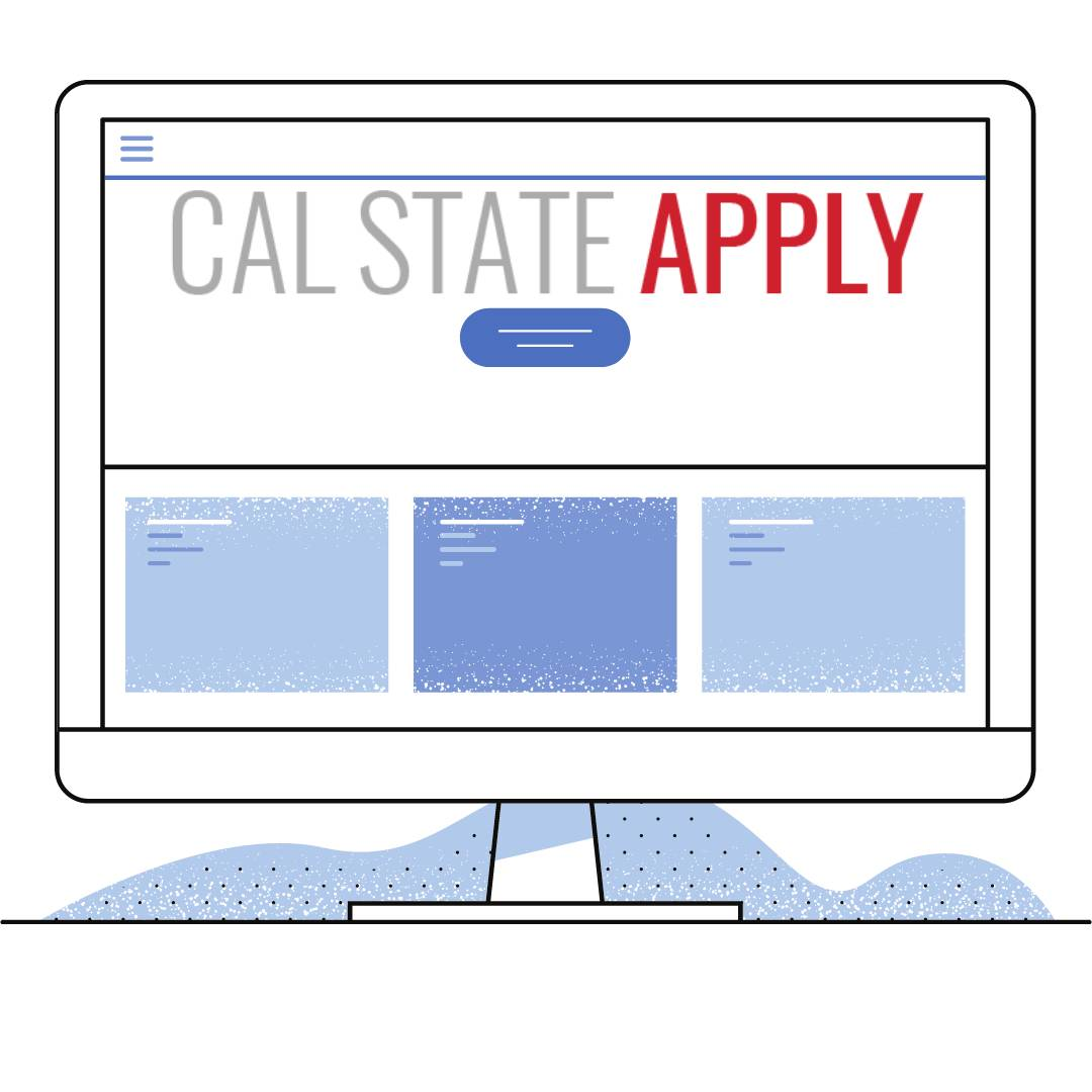 "computer reading ""Cal State Apply"""