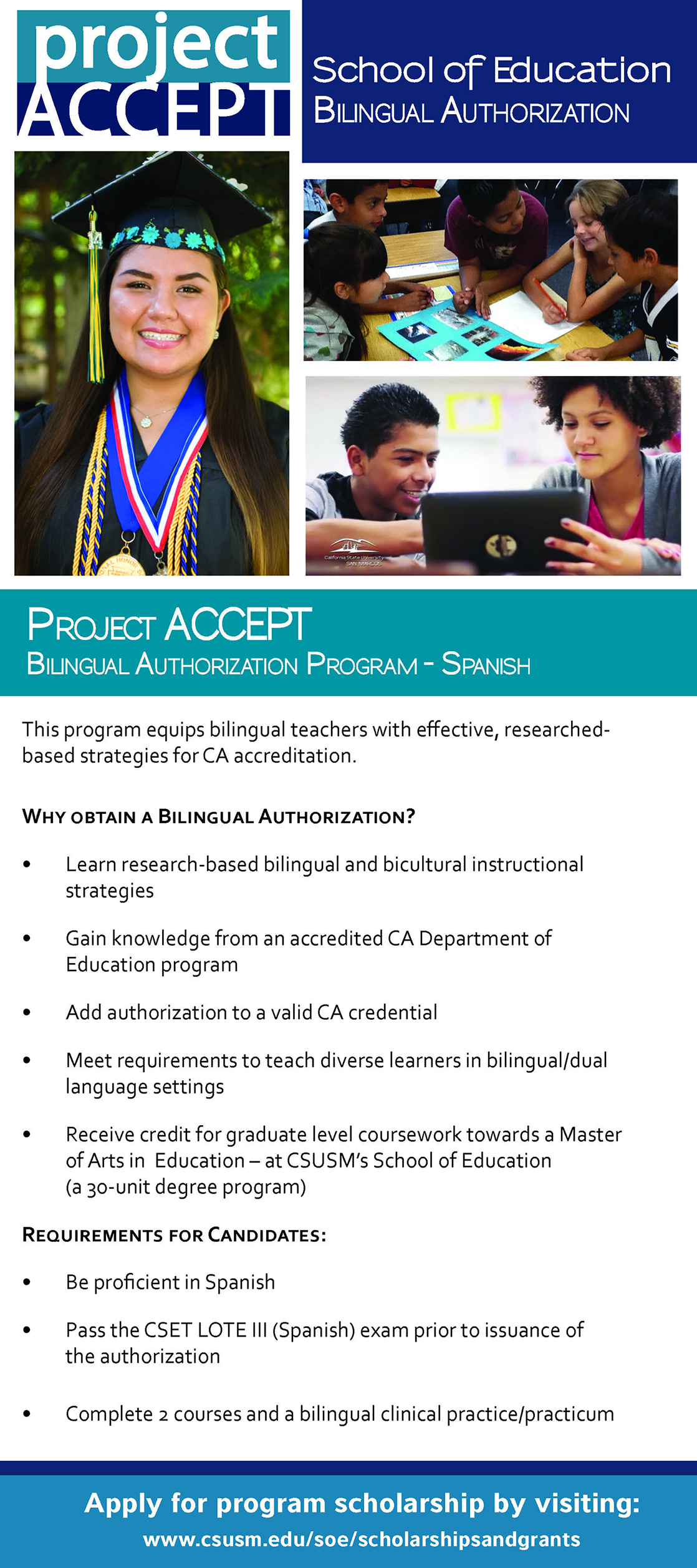 ProjectACCEPT Bilingual Authorization Flyer
