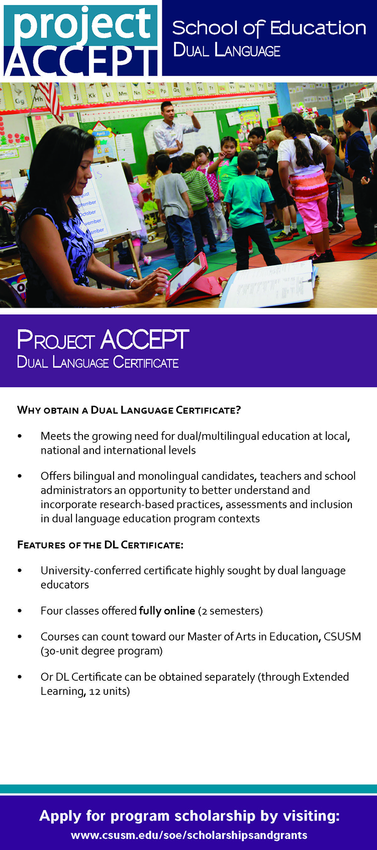 ProjectACCEPT Dual Language Flyer