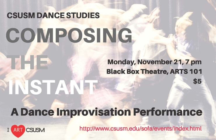 Flyer for Dance Performance