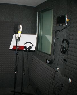 340 sound booth
