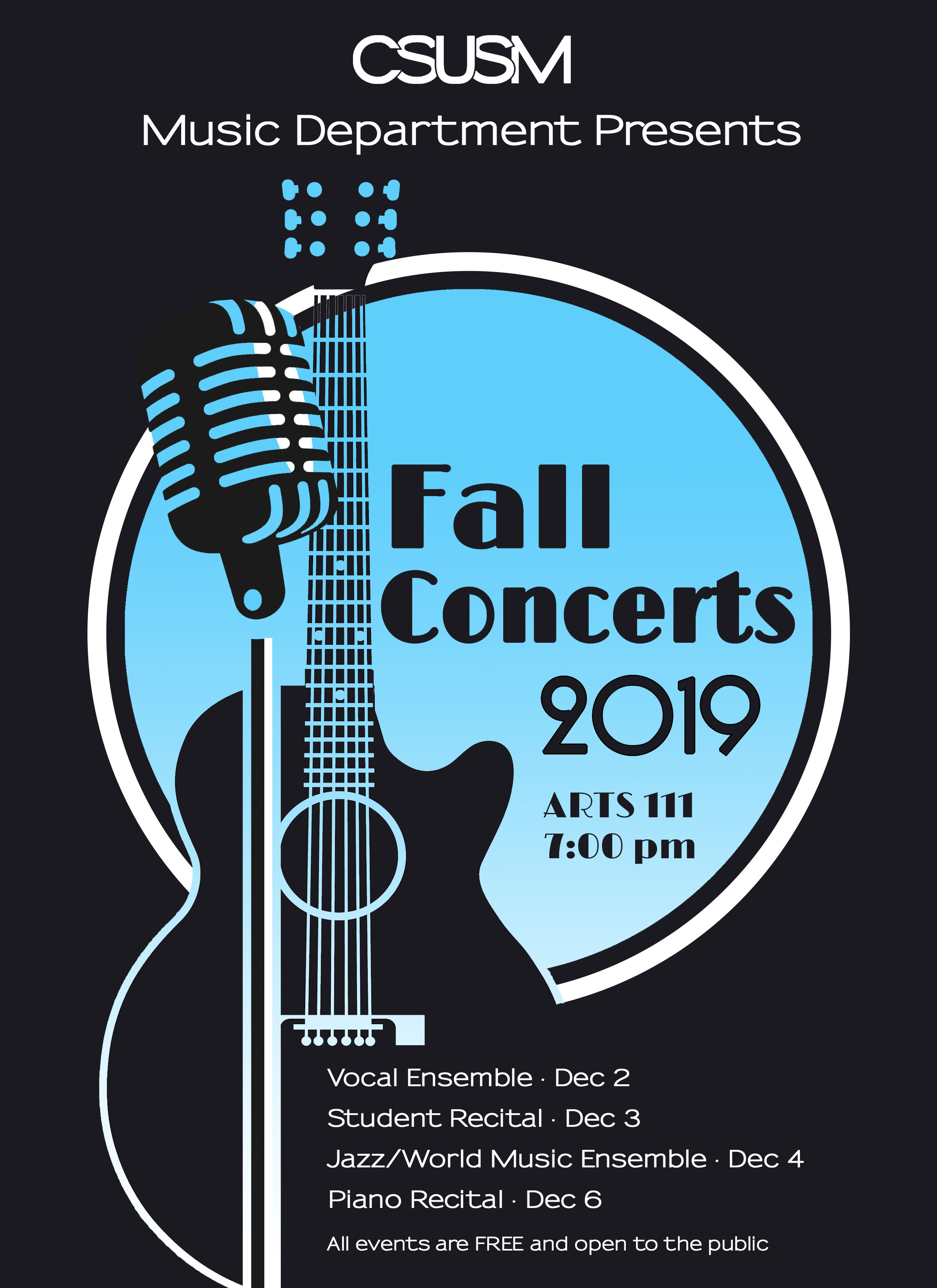 Fall Concerts 2019