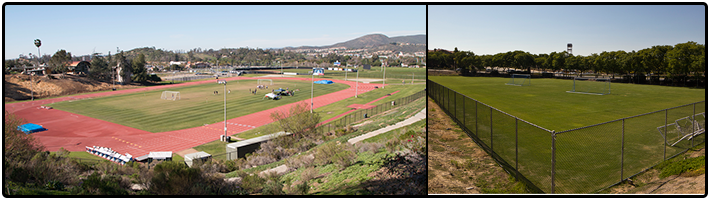 Sports Fields at CSUSM