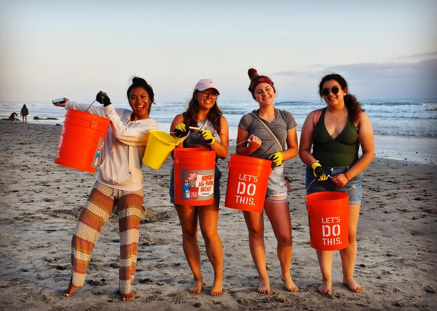 ESA Beach clean up
