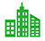 Green Buildings Icon