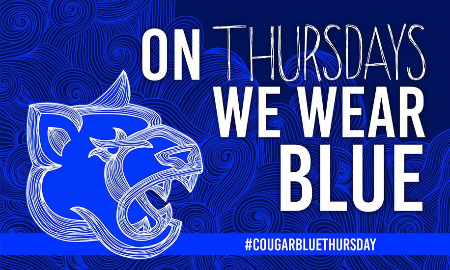 Cougar Blue Thursday