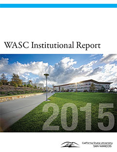 Institutional Report 2015 Cover
